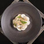Pilzaromen- Weidehuhn und Haut Seegras