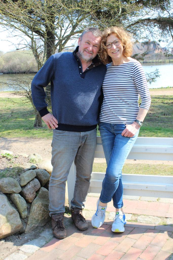 Passionierte Gastgeber: Manfred und Verena Fitschen