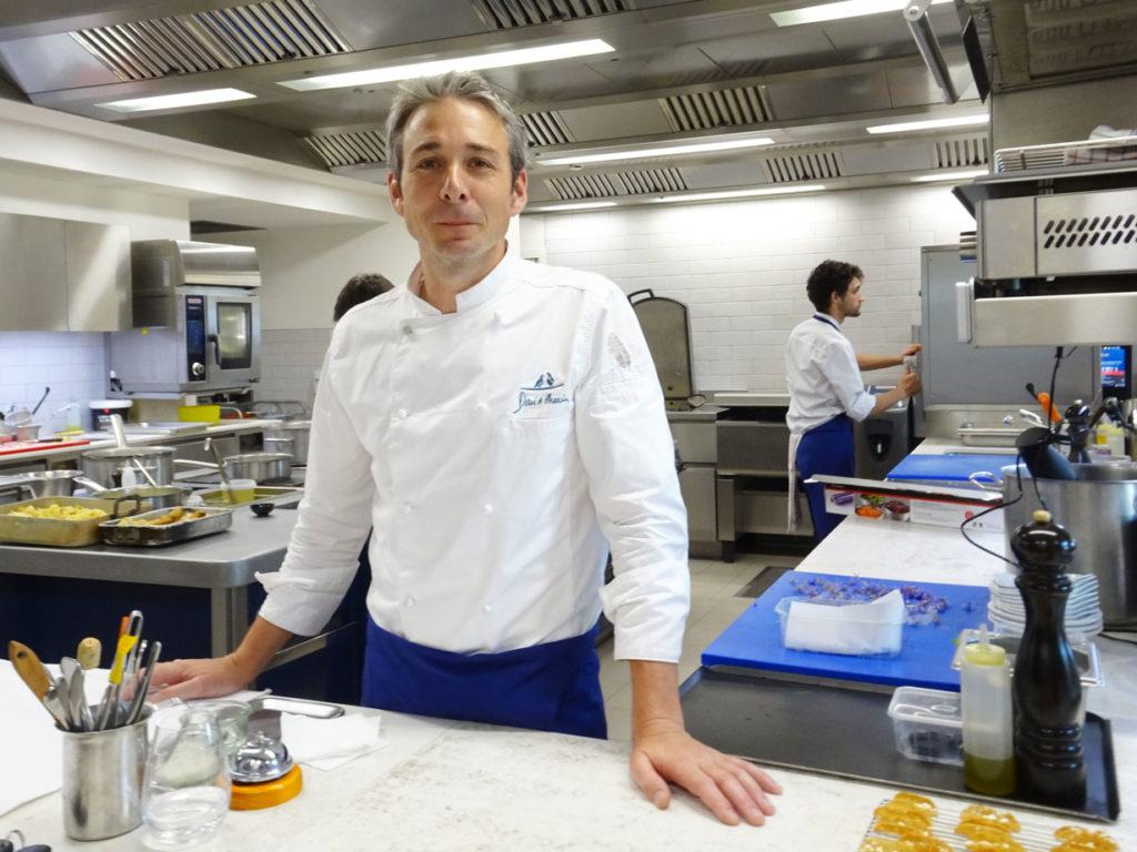 Zurück zum Stern Küchenchef David Charrier