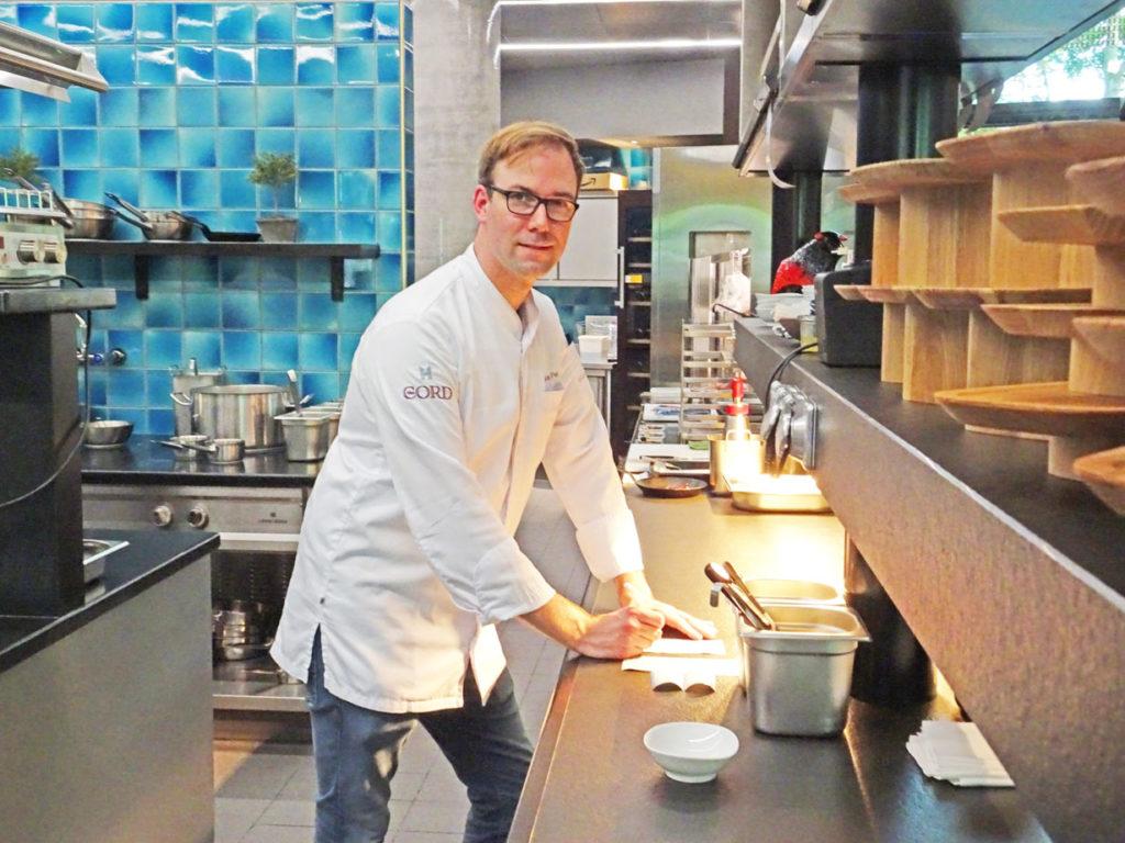 Küchenchef Florian Peters